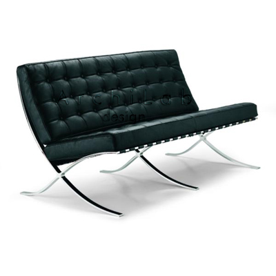 Ludwig Mies Van Der Rohe: Sofa 2 seater - 21/P2
